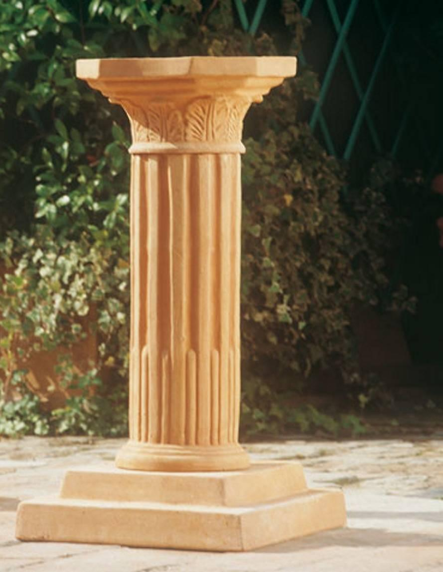 Colonna baccellata (base larga)